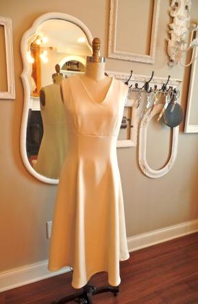 Vogue 8828 in a wool-silk blend